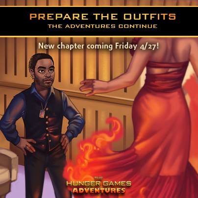 New Chapter for The Hunger Games Adventures!