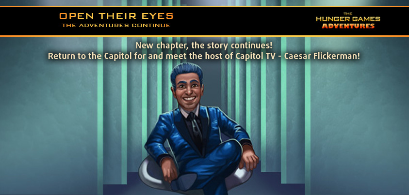 Caesar Flickerman The Hunger Games Adventures