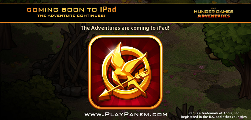 The Hunger Games Adventures iPad